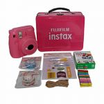 Fujifilm Mini 9 Craft Kit Package Flamingo Pink Instant Camera